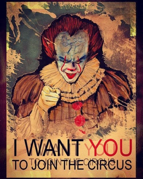 I want IT  #paintingoftheday #drawing #drawingoftheday #color #painting #colorpencils #fabercastell #taty #pennywise #it #stephenking #tattooart #art #photooftheday #painteveryday #engraved #engravedcircus #circus #circustattoo #athens #athenstattoo #zografou #zografoutattoo #tattooartist #artist #pi #pitheartist (στην τοποθεσία Engraved Circus Tattoo Parlour)
