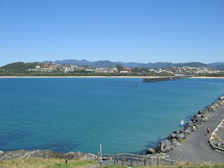 This is from another directions from Mutton Bird Island in Coffs Harbour N.S.W
