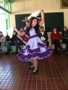 vestidos de huasa chilena - Buscar con Google