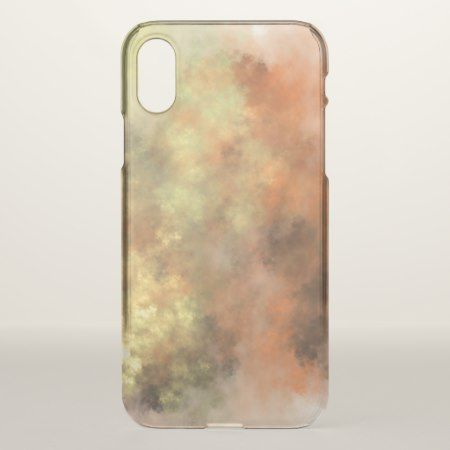 Orange, Yellow & Gray Mist-Like Pattern Phone Case - click to get yours right now!