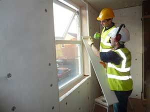 Internal wall insulation is insulation of the internal surface of external (heat losing) walls.