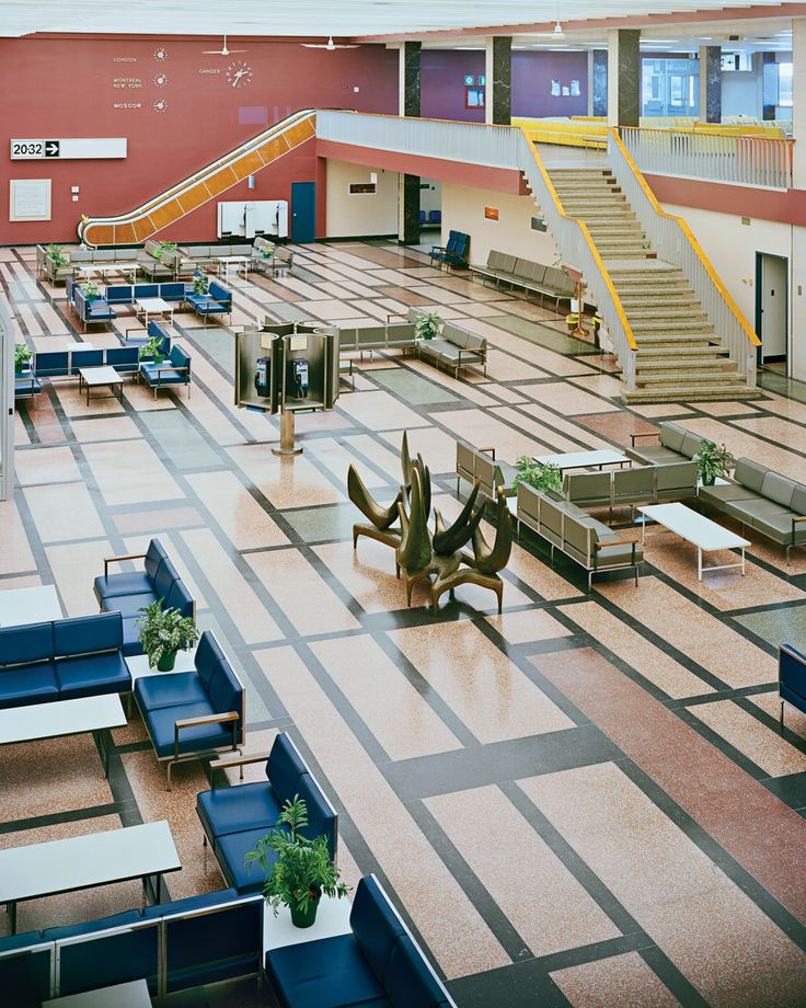 In the 1950s, Canada's Department of Transport commissioned a modernist makeover for a tiny international air hub in Newfoundland, a design that has proven as timeless as it was trendsetting.