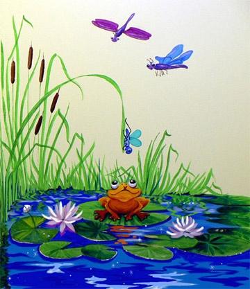 pre-school mural