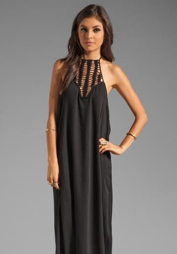 ACACIA SWIMWEAR Positano Crochet Maxi Dress