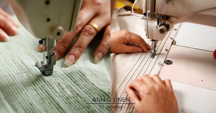 Our production team produces each piece of clothing attentively. #annglinen #linenclothing