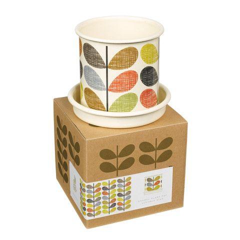 Orla Kiely Scribble Stem Plant Pot (Small) - Cadeaux.ie