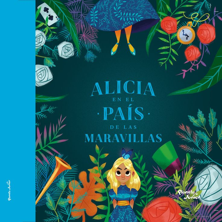 A Book i made with Planeta Editorial Colombia in 2016, i ilustrated the whole project, brings over of this incredible history called Alice in Wonderland.