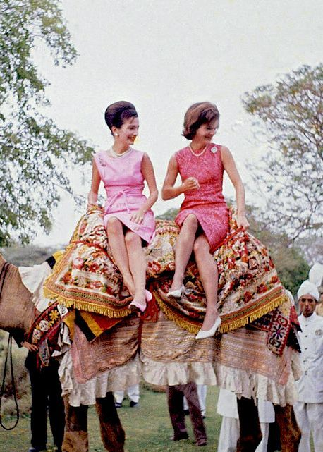 Modern-Day Muses — Lee Radziwill and Jackie Kennedy...