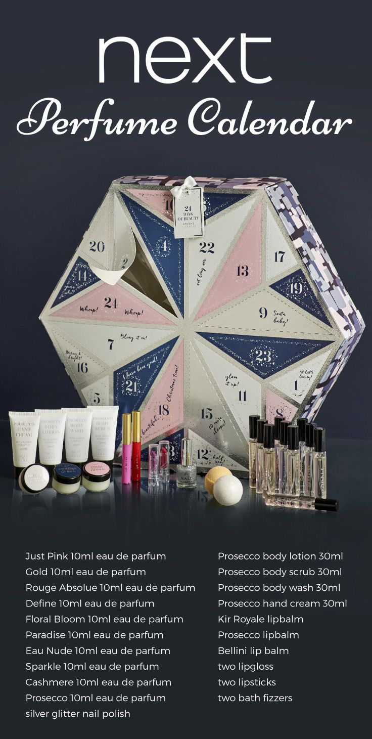 Next have brought out an Advent Calendar and it's full of Perfume and Makeup!