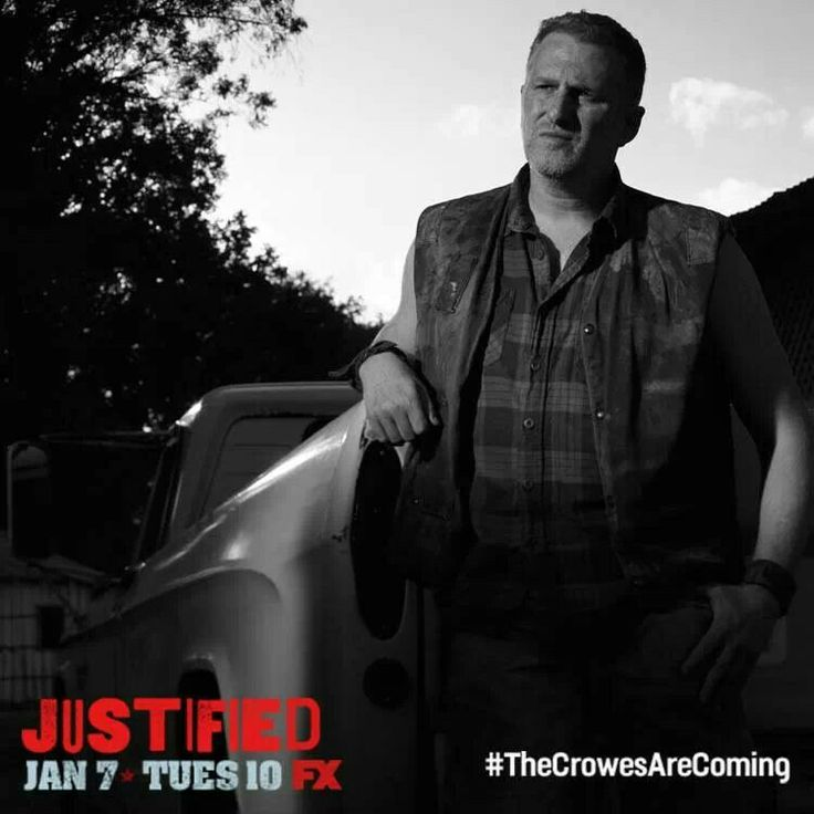 Justified - Can't wait to see Michael Rapaport as one of the Crowes!