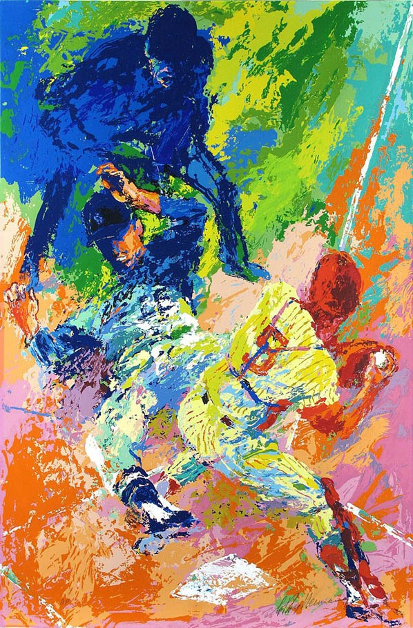Football Field Painting Art