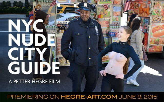 "Nude City Guide: Hegre-Art.com Supports Free the Nipple In the land of the free, bare breasts will get you handcuffed – and not in the way you would hope. So the ""Free the Nipple"" movement was created. In support of this much needed revolution, Petter Hegre and his model Emily took her gorgeous gals around town and started the NYC Nude City Guide. For more details, please go to: http://www.hegre-art.com/ncg https://twitter.com/petterhegre"
