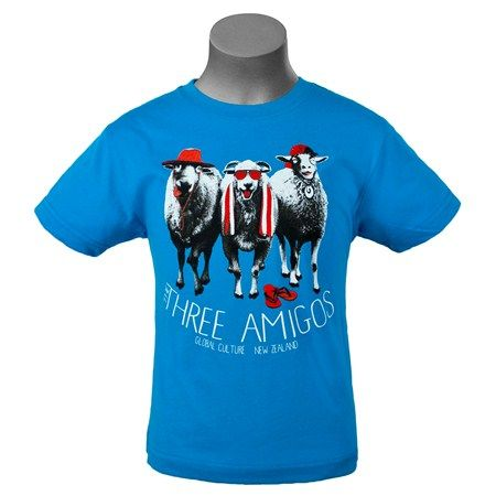 tees - three amigos summer t-shirt - Global Culture
