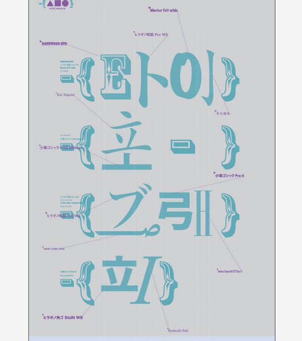 Korean typography postersouth korea north korea