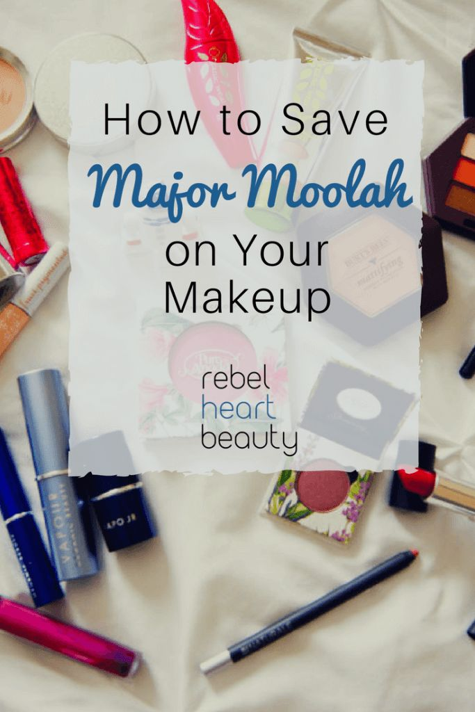 How to Save Major Moolah on Your Makeup  - Life of the makeup addict: always broke, but always wanting the latest beauty products. Am I right? Save your Benjamins! No matter your budget or where you shop, you can pick green glam alternatives for your price point and save. I've discovered some great ways to save on makeup, and I'm here to share my best tips. #makeup #beauty #naturalmakeup #organic #greenbeauty #tips #savemoney