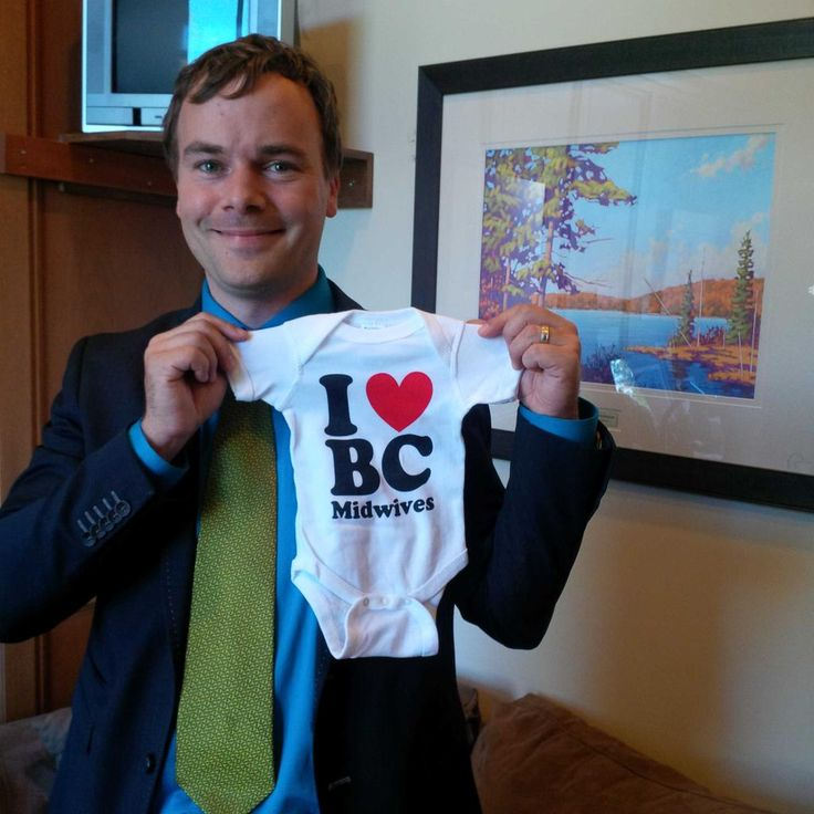 """Msg from MLA Herbert (West End/Coal Harbour) """"Happy BC Midwives Day! Thanks for bringing beautiful babies into BC, + great maternity care"""" @bcmidwives"""