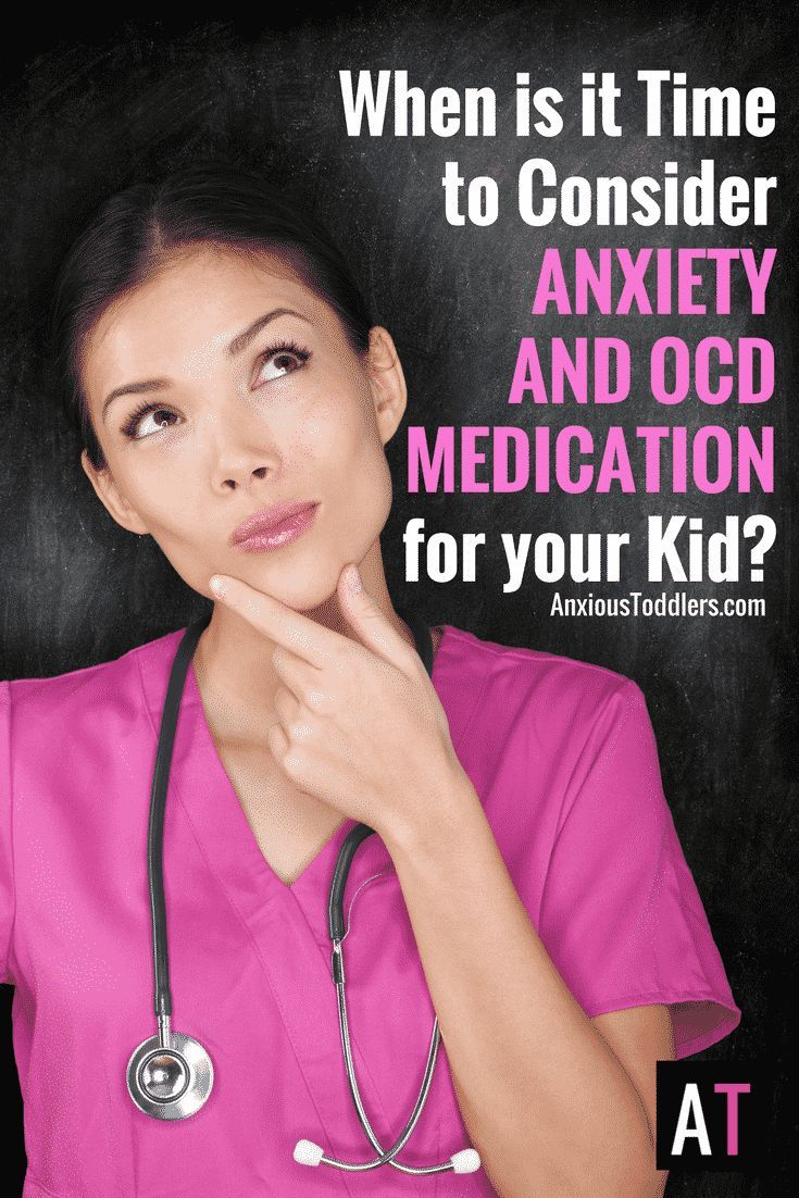 Your child isn't functioning. Therapy isn't helping. You aren't helping. When is it time to consider anxiety and OCD medication?