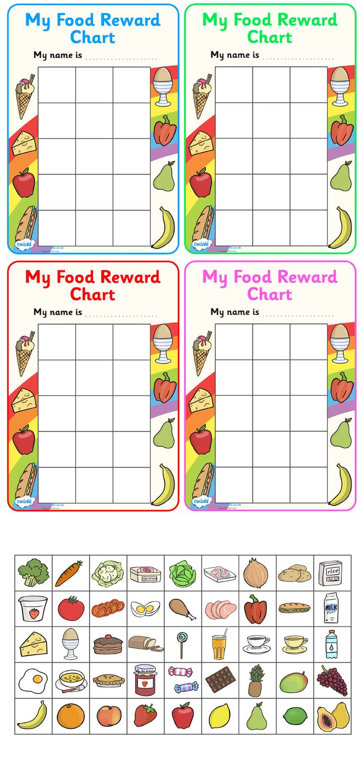 Twinkl Resources >> My Food Reward Chart  >> Classroom printables for Pre-School, Kindergarten, Primary School and beyond! reward chart, food, good eating, healthy eating, school reward, behaviour chart, SEN, daily routine chart,