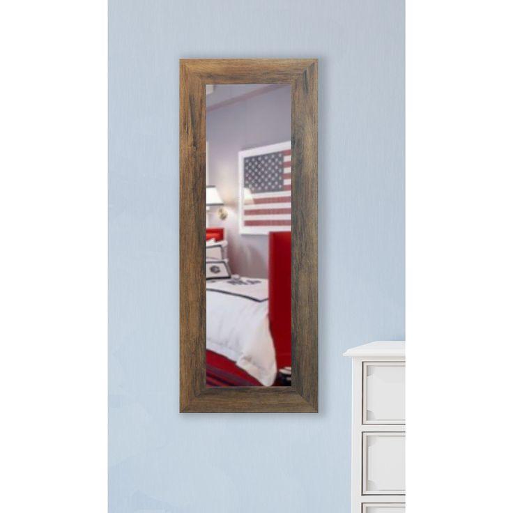 American Made Rayne Brown 26 x 64-inch Full Length Vanity ...