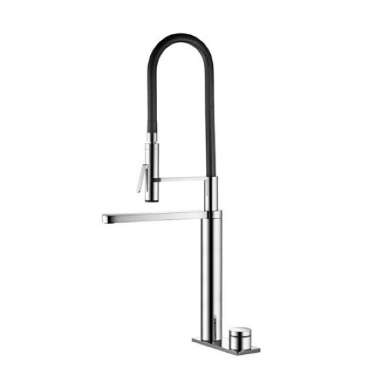 KWC 10.651.122.000 Ono Kitchen Faucet With LED Technology