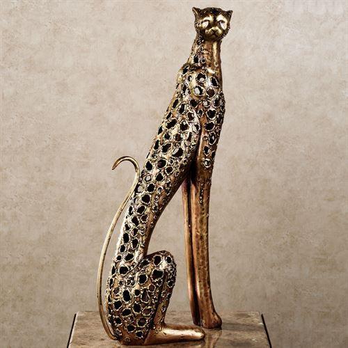Wild Elegance Cheetah Sculpture