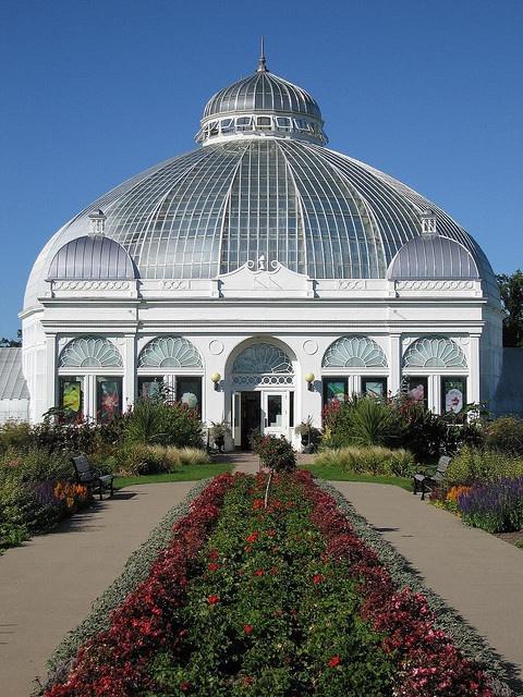 Buffalo And Erie County Botanical Gardens Buffalo Ny