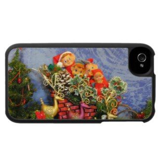Elf Sleigh iPhone 4 Covers
