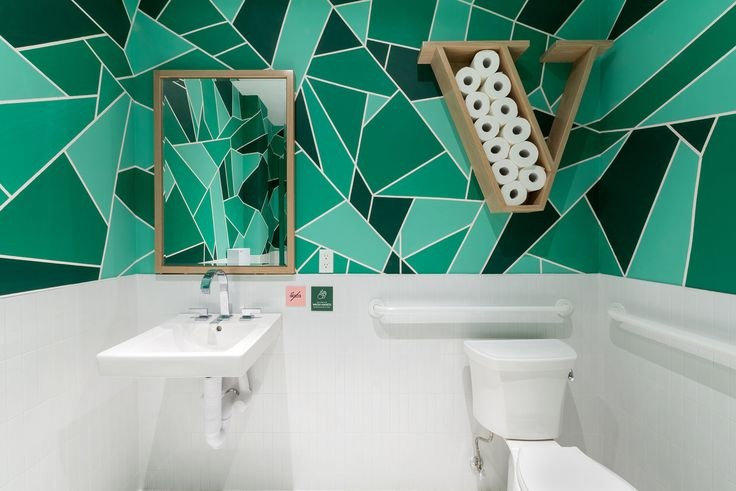 Verde bathrooms