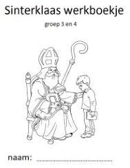 werkboekje met opdrachten rondom Sinterklaas voor je groep 3 tot 7