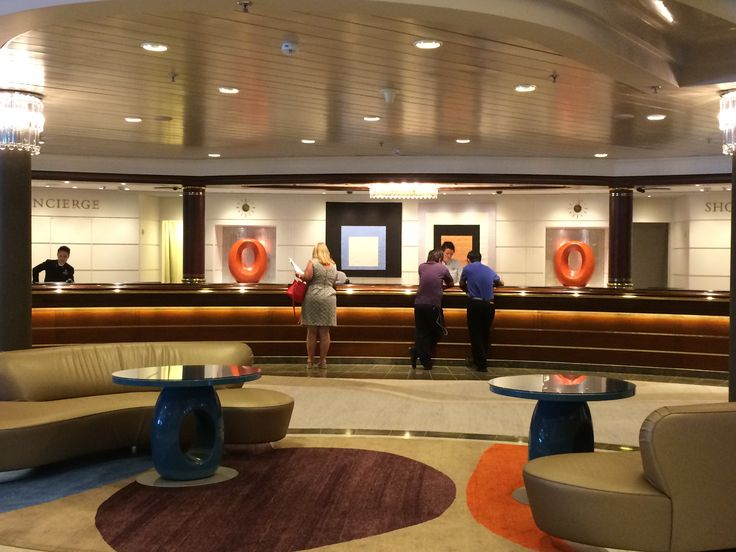 Crystal Cruises - Crystal Symphony, Concierge Desk