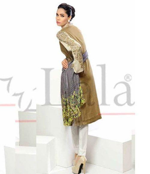 Sana Samia Kurti Wiith Stole Collection SMK_03