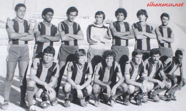 Equipa de 1980/81.Tantos jogadores naturais de Olhão!
