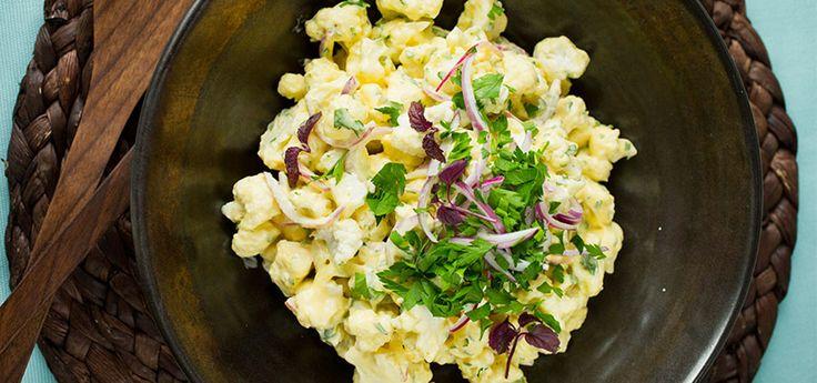 Bilde av verdens beste blomkålsalat