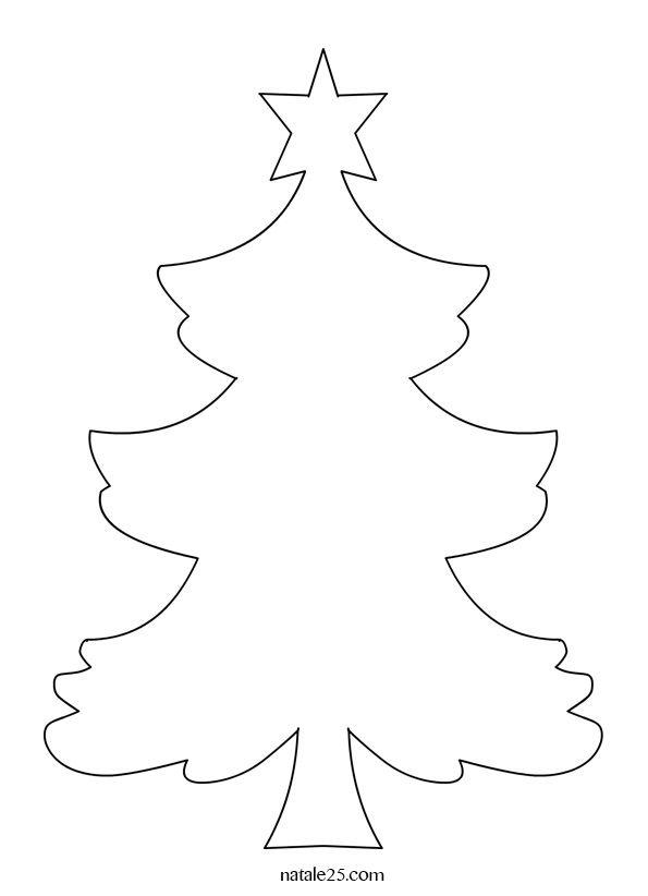Risultati Immagini Per Cartamodello Albero Di Natale In