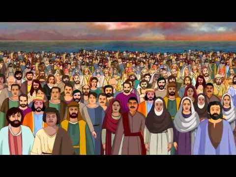 Bible stories for kids - Feeding 5000 ( Jesus Cartoon Animation in English ) - YouTube