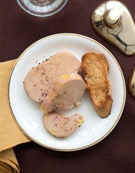 Foie gras au torchon à l'ancienne