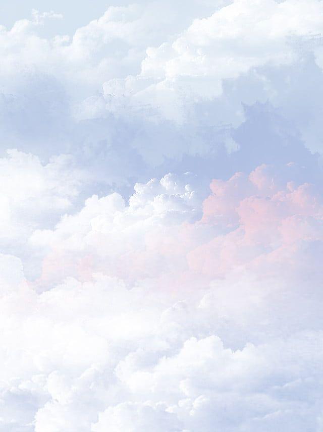 Beautiful Gradient Color Cloud Background Clouds Paint Background Colorful Backgrounds