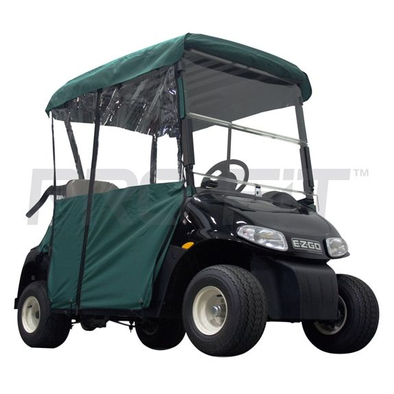 Our 2-Passenger Enclosure for EZGO RXV Golf Cart is perfect for the winter and other weather conditions. Comes in a variety of colors..