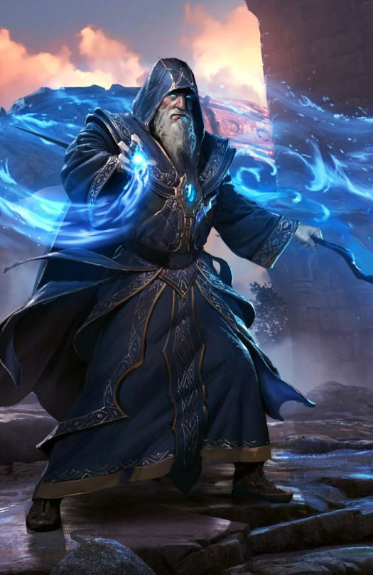CyberClays - elder wizard | Referance in 2019 | Fantasy ...
