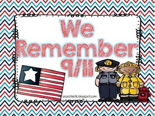 9/11 Freebie for Little Learners