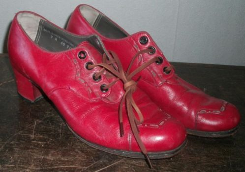 Schoenen jaren 30-40