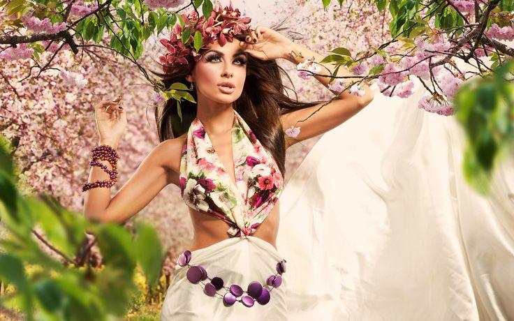 Картинки по запросу девушка-весна картинки фэнтези ...