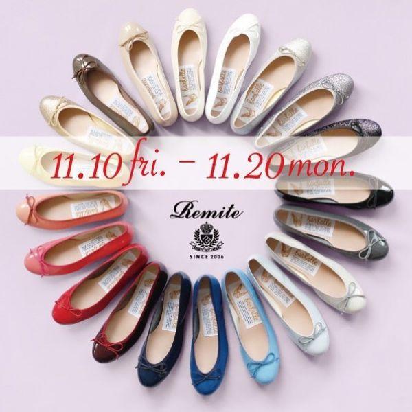 予告 11/10(fri.)〜 20(mon.)farfalle ファルファーレ 神戸生まれのバレエシューズブランド 靴職人の円熟な技術によってひとつひとつ丁寧に作りあげられます こだわりはマシュマロのような履き心地と足の形をきれいに見せることを追求し設計されたフォルム ぜひこの機会にお立ち寄り下さいませ!(color & sizeオーダー頂き2週間後にお渡しとなります)#吉祥寺 #セレクトショップ #farfalle#ファルファーレ #バレエシューズ #オーダーシューズ