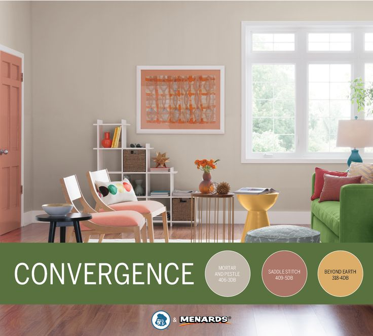 Bright Bold Shades Are The Focus Of Dutch BoyR Convergence Color Trend