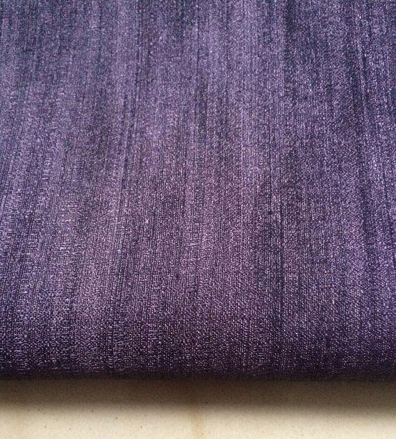 Pure Raw Silk Fabric Decorative Silk Fabric Indian by NeaFabrics, $12.50