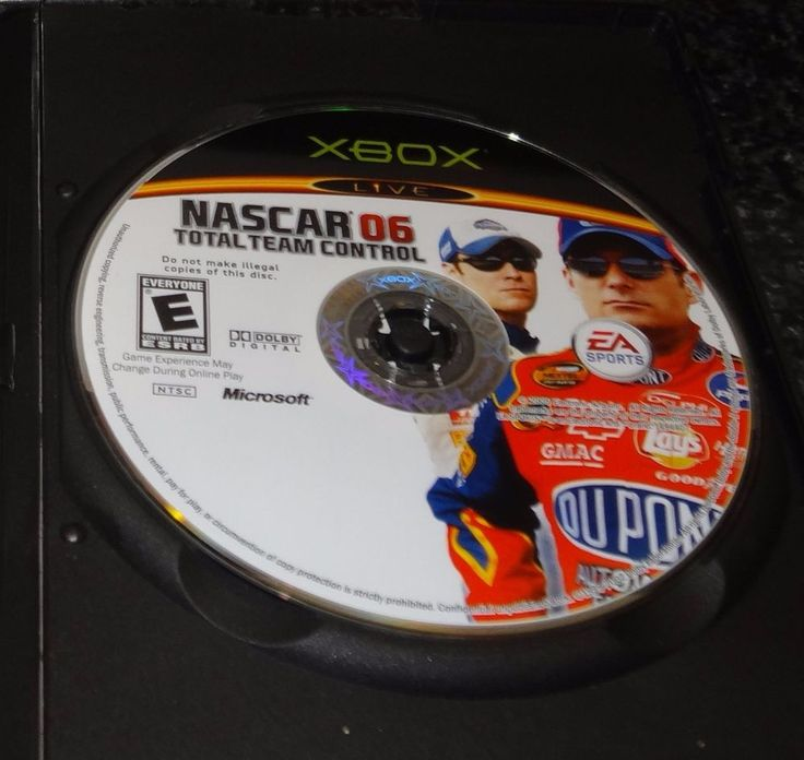 NASCAR 06: Total Team Control Microsoft Xbox Racing Video Game - JB