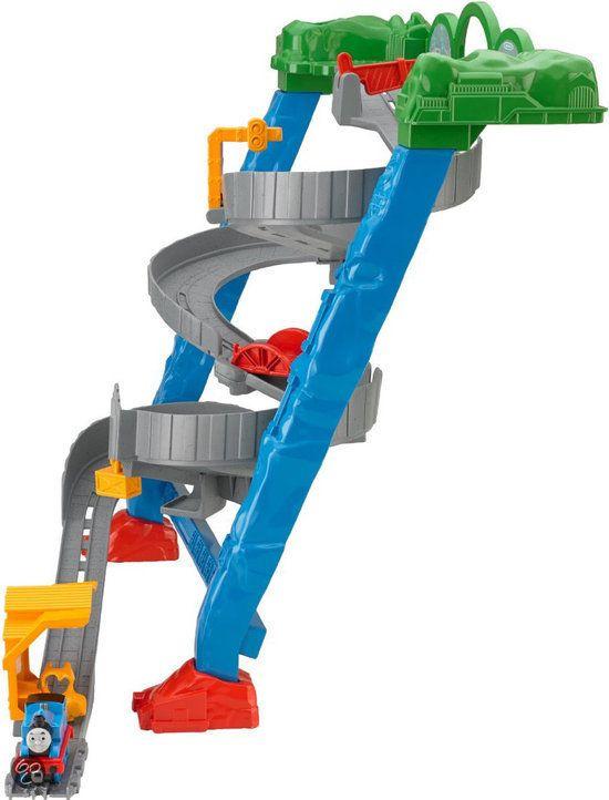 bol.com   Fisher-Price Thomas de trein Spills & Thrills on Sodor,Mattel   Speelgoed...