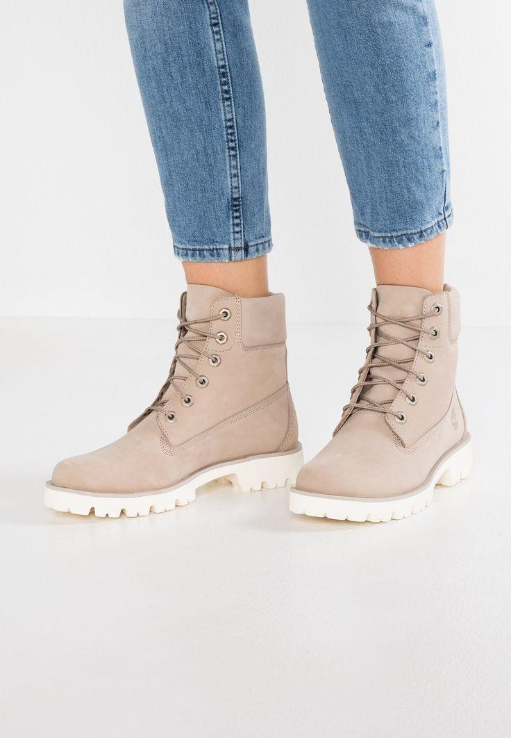 Chaussures Timberland HERITAGE LITE BOOT - Bottines à lacets - light grey gris clair: 179,95 € chez Zalando (au 06/03/18). Livraison et retours gratuits et service client gratuit au 0800 915 207.