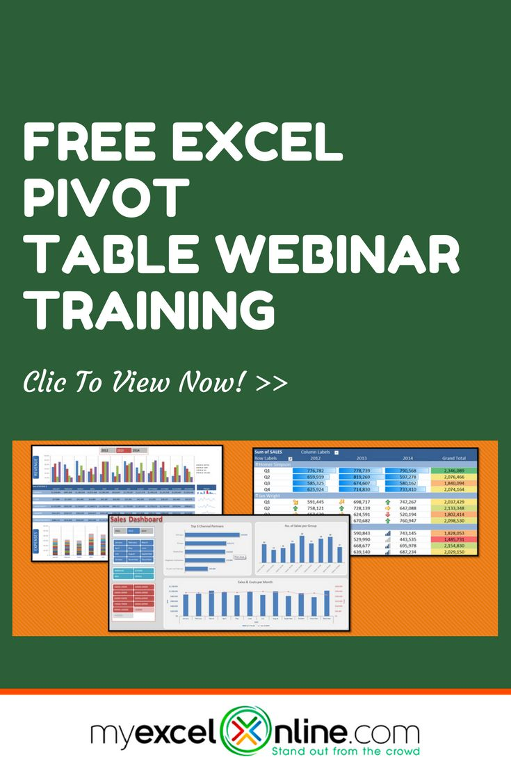 | Learn Microsoft Excel Tips + Free Excel Tutorials & Cheat Sheets | The Most In-Depth Excel Video Courses Online at http://www.myexcelonline.com/138-5.html