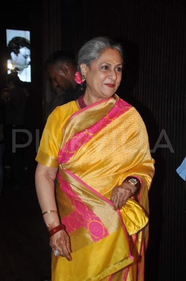 Jaya Bachchan & Aishwarya Rai Bachchan are seen at director Subhash Ghai's wife, Rehana's birthday bash. Aishwarya's mother, Vrinda Rai was also in attendance.